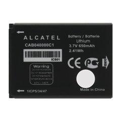 باتری اورجینال آلکاتل CAB040000C1 ظرفیت 650 میلی آمپر ساعت-1