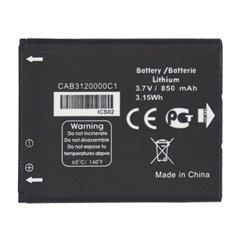باتری اورجینال آلکاتل CAB3120000C1 ظرفیت 850 میلی آمپر ساعت