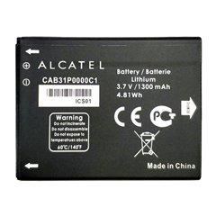 باتری اورجینال آلکاتل CAB31P0000C1 ظرفیت 1300 میلی آمپر ساعت