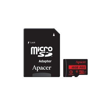 کارت حافظه micro SDHC اپیسر استاندارد UHS-I ظرفیت 16 گیگابایت کلاس 10 با آداپتور
