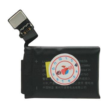 باتری ساعت هوشمند اپل واچ 2 ظرفیت 273 میلی آمپر ساعت 38 میلی متری-1