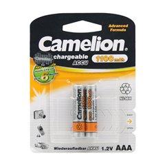 باتری نیم قلمی قابل شارژ کملیون مدل HR03 ظرفیت 1100 میلی آمپر ساعت بسته 2 عددی - 1