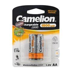 باتری قلمی قابل شارژ کملیون ظرفیت 1800 میلی آمپر ساعت بسته 2 عددی - 1