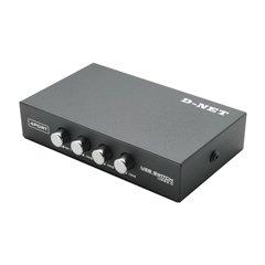 دیتا سوئیچ چهار پورت USB دی نت -1