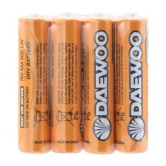 باتری نیم قلمی دوو مدل Super Heavy Duty R03 بسته 4 عددی-1