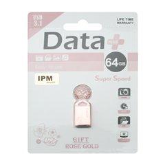 فلش مموری USB 3.1 دیتا پلاس مدل Gift ظرفیت 64 گیگابایت - 1