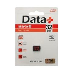 کارت حافظه Micro SDHC دیتا پلاس ظرفیت 32 گیگابایت کلاس 10 - 1