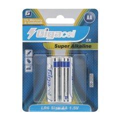 باتری قلمی گیگاسل مدل Super Alkaline LR6 بسته 2 عددی-1