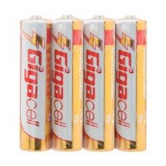 باتری نیم قلمی گیگاسل مدل Ultra Heavy Duty R03-4S بسته 4 عددی-1