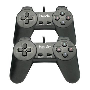 دسته بازی دوبل هویت مدل HV-G66