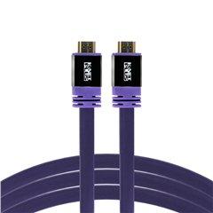 کابل HDMI کی نت پلاس مدل Pro Flat طول 3 متر - 1