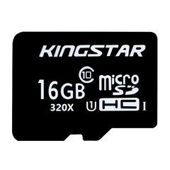 کارت حافظه Micro SDHC کینگ استار BULK استاندارد U1 ظرفیت 16 گیگابایت کلاس 10 - 1