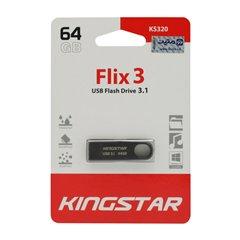 فلش مموری USB 3.1 کینگ استار مدل KS320-Flix3 ظرفیت 64 گیگابایت - 1