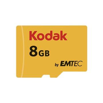 کارت حافظه Micro SDHC کداک استاندارد UHS-I U1 ظرفیت 8 گیگابایت کلاس 10 با آداپتور