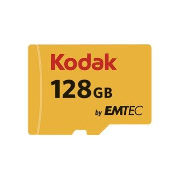 کارت حافظه Micro SDXC کداک استاندارد UHS-I U1 ظرفیت 128 گیگابایت کلاس 10 با آداپتور