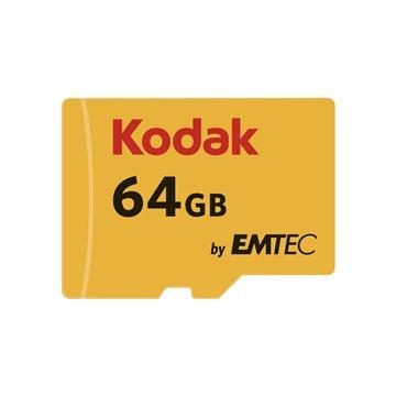 کارت حافظه Micro SDXC کداک استاندارد UHS-I U1 ظرفیت 64 گیگابایت کلاس 10 با آداپتور - 1