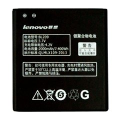 باتری اورجینال لنوو BL209 ظرفیت 2000 میلی آمپر ساعت - 1