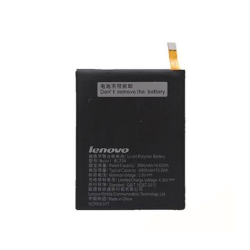 باتری لنوو BL234 ظرفیت 4000 میلی آمپر ساعت