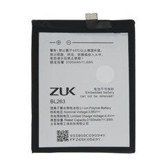 باتری اورجینال لنوو ZUK Z2 پرو مدل BL263 ظرفیت 3100 میلی آمپر ساعت