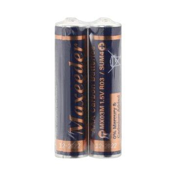 باتری نیم قلمی مکسیدر مدل Ultra Heavy Duty MX03M بسته 2 عددی-1