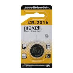 باتری سکه ای مکسل مدل CR2016 - 1