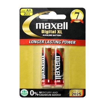 باتری قلمی مکسل مدل Digital XL بسته 2 عددی - 1