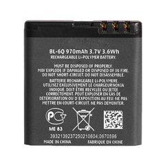 باتری نوکیا 6700 Classic مدل BL-6Q ظرفیت 970 میلی آمپر ساعت - 1