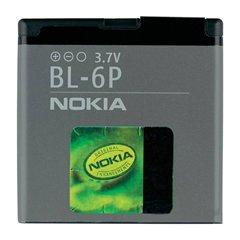 باتری اورجینال نوکیا BL-6P ظرفیت 830 میلی آمپر ساعت