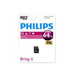 کارت حافظه Micro SDXC فیلیپس ظرفیت 64 گیگابایت کلاس 10 - 1