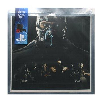 برچسب PS4 اسلیم سونی طرح مورتال کمبت افقی - 1