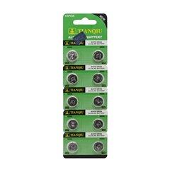 باتری سکه ای تیان کیو مدل AG10 بسته 10 عددی - 1