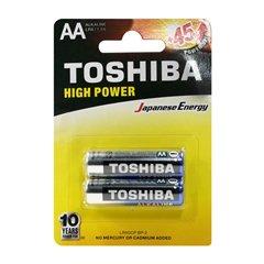 باتری قلمی توشیبا مدل High Power BP-2 بسته 2 عددی - 1