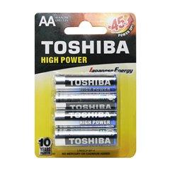 باتری قلمی توشیبا مدل High Power BP-4 بسته 4 عددی - 1