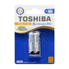 باتری نیم قلمی قابل شارژ توشیبا مدل TNH-03AC بسته 2 عددی - 1