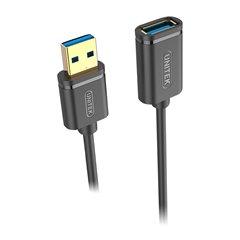 کابل افزایش طول 3.0 USB يونيتک مدل Y-C459G طول 2 متر - 1