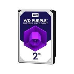 هارد دیسک اینترنال وسترن دیجیتال مدل Purple WD20PURZ ظرفیت 2 ترابایت