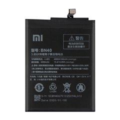 باتری اورجینال شیائومی Redmi 4 Pro مدل BN40 ظرفیت 4000 میلی آمپر ساعت-1