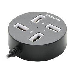 هاب 4 پورت USB 2.0 اکس پی پروداکت مدل XP-H813C-1